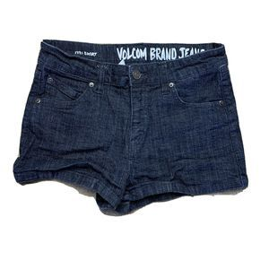 Volcom Denim Shorts Juniors size 5
